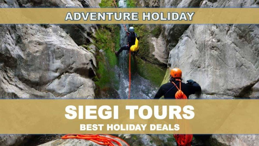 Canyoning Salzburg Siegi Tours Adventure Holiday