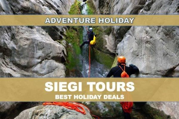 Canyoning Salzburg Siegi Tours Adventure Holiday