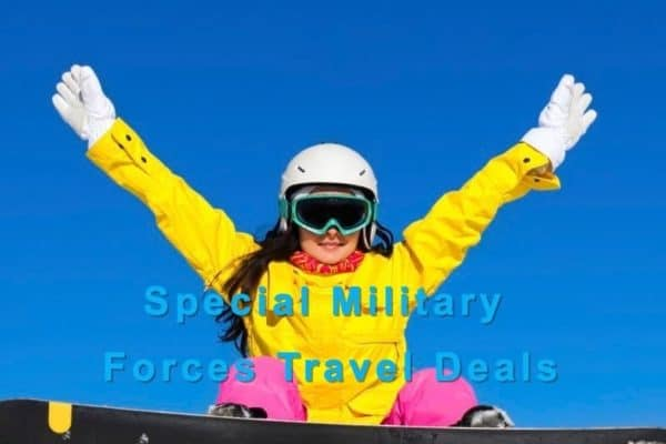 Book Special Military Forces Travel Deals
